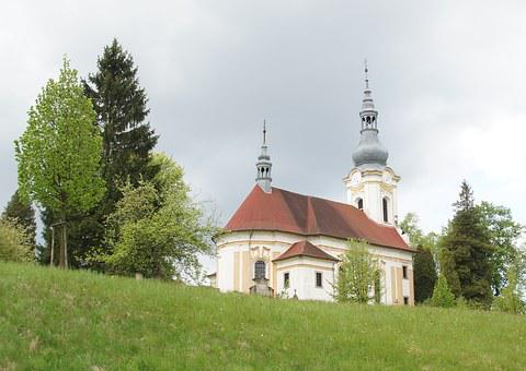 Kytlice, Church, Spring, Landscape, Tower, Bohemia