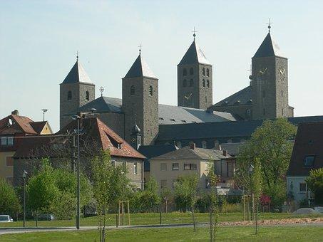Münsterschwarzach, Abbey, Lower Franconia