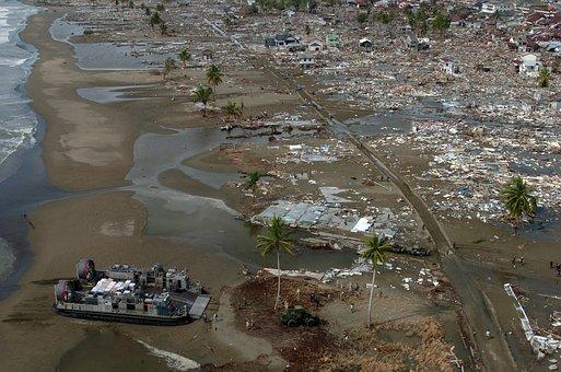 Tsunami, Riptide, Natural Disaster, Hovercraft
