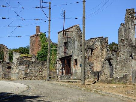 France, Oradour-sur-glane, Martyr, Oradour, War