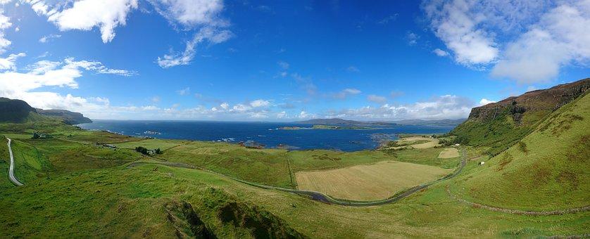 Landscape, Scotland, Isle Of Mull, Uk, Scottish, Scenic