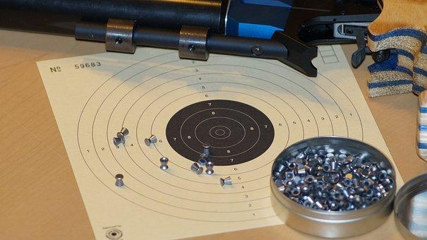 Air Pistol, Shoot, Shooting Sports, Balls, Target