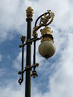 Lantern, Castle, Palace, Lamp, Crown, Light, Sky