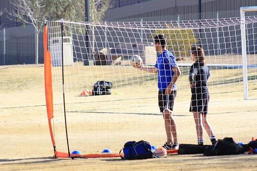 Soccer, Contemplating, Planning, Practice, Team
