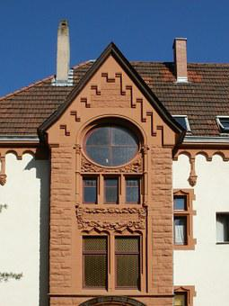 Facade, Window, St Arnual, Building, Architecture