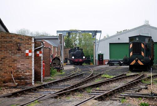 Steam Locomotive, Railway, Diesel Locomotive, Heritage