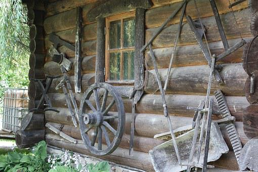 Dacha, Trade, Craft, Village, Countryside, Wooden House
