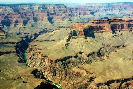 Usa, Colorado, River, Grand Canyon, America