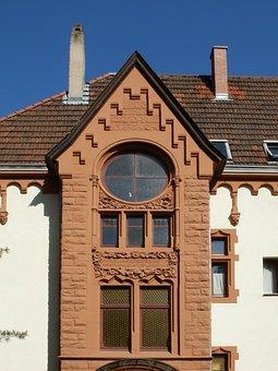 Facade, Window, St Arnual, Building, Architecture