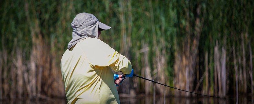 Fisherman, Casting, Fisher Men, Rod, Angling