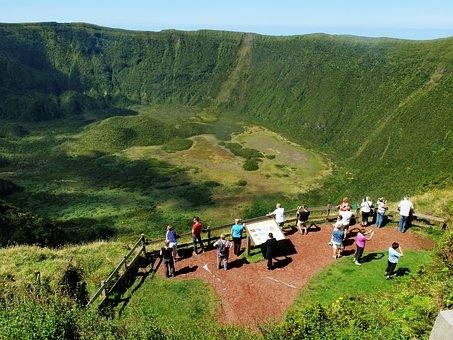 Azores, Faial, Crater, Caldera