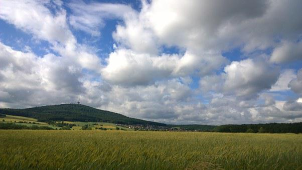 Sky, Clouds, Clouds Form, Blue, Fellingshausen