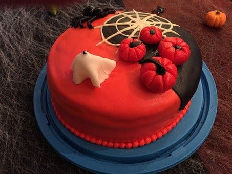 Cake, Halloween, Layer Cake
