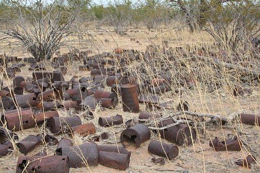Florence, Arizona, Desert Gardens Rv Park, Desert