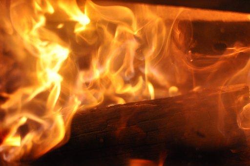 Fire, Fireplace, Flame, Wood, Burn, Open Fire, Blaze