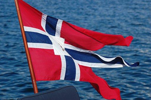 Flag, Norway, The National, The Split Flag, Båtflagg