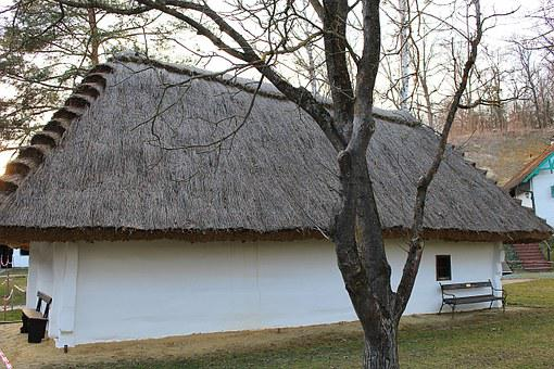 Home, Thatched Roof, Straw Roof, Straw