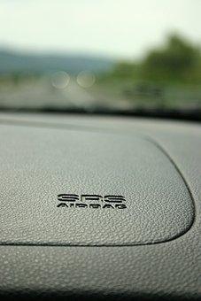 Airbag, Auto, Kia, Sportage, Passenger, Road, Srs