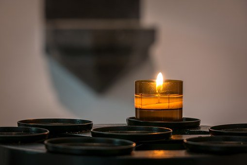 Candle, Votive Light, Flame, Candlelight, Stoup, Light