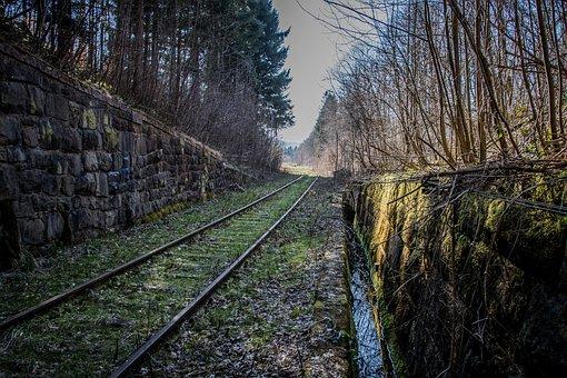 Railway, Track, Seemed, Railroad Tracks, Railway Rails