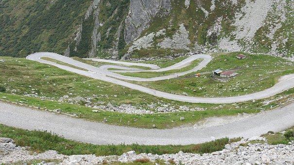 Tremolastrasse, Switzerland, Gotthard Col