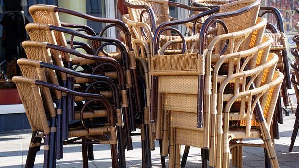Seat, Seating, Gastronomy, Chairs, Robust, Weatherproof