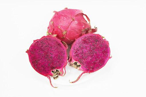 Pitaya, Fruit, Purple, Asia, Tropical