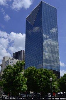 Atlanta, Atl, Georgia, Downtown, Ga, City, Southern