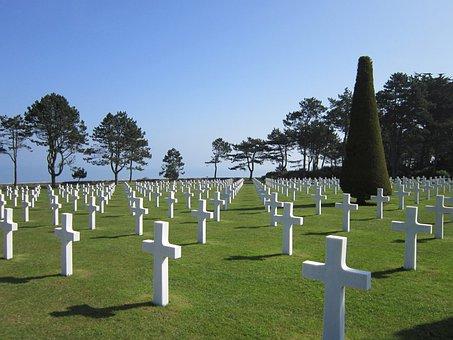 Cemetery, Omaha Beach Cemetery
