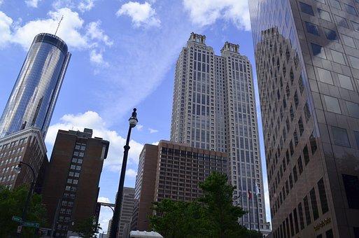 Atlanta, Georgia, Atl, Architecture, City, Cityscape