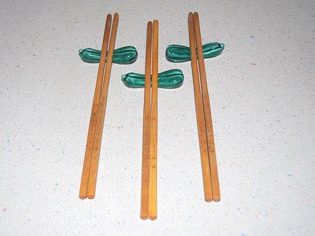 Chopsticks, Holder, Utensil, Asian, Eat, Dinner