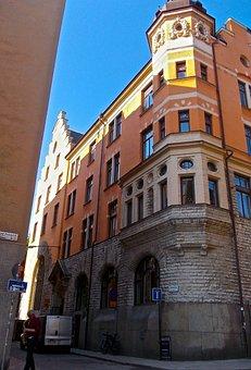 Facade, Mill Street, St Paul Street, Södermalm
