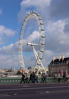 London Eye, Ferris Wheel, Big Wheel, Westminster