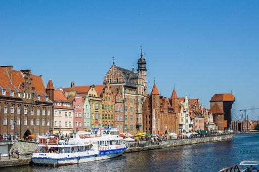 Gdańsk, The Old Port, Mołtawy, Poland