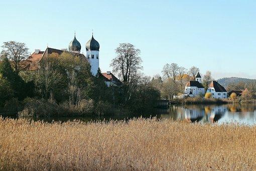 Upper Bavaria, Monastery, Church, Monastery Church