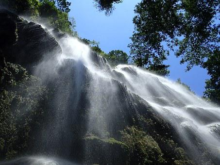 Waterfall, Oslob, Philippines, Falls, Cebu