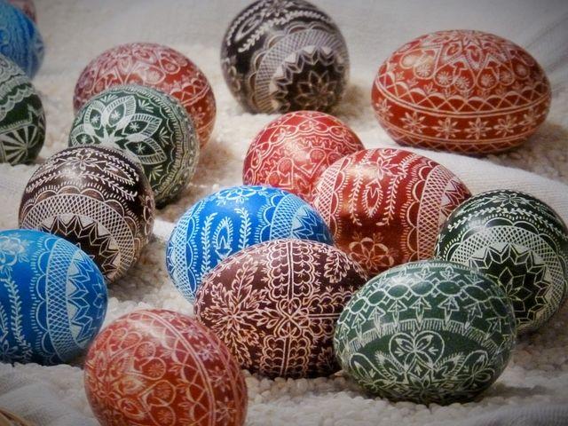 Easter Egg, Sorbian, Painted, Customs