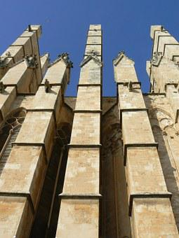 Buttresses, Cathedral, Palma De Mallorca