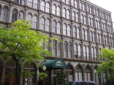 Cast-iron Buildings, Cast Iron, Historic, Philadelphia