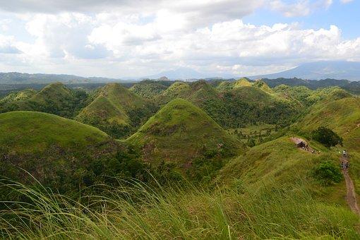 Hills, Philippines, Nature, Outdoor