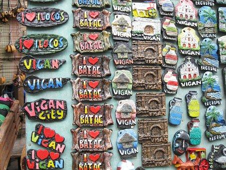 Souvenir, Vigan, Philippines, Ilocos, Travel, Colorful