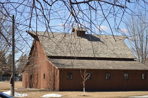 Barn, Outside, Wood, Farm, Wooden, Rural, Building