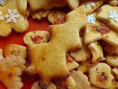 Cookie, Ausstecherle, Fir Tree, Christmas, Biscuit