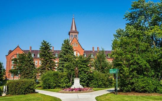 University Of Vermont, Burlington, Vermont, Summer