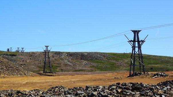 Mine, Copper, Copper Mine, Storwartz, Cableway