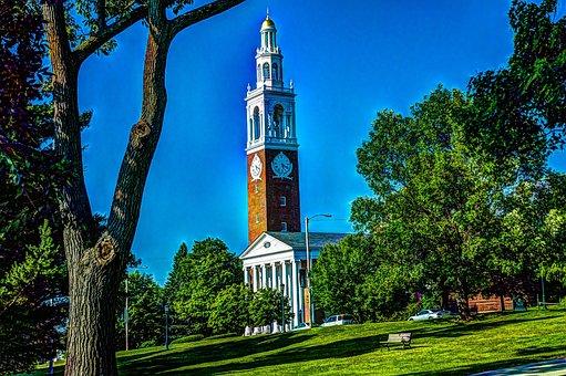 Chapel, University Of Vermont, Burlington, Vermont