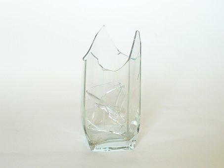 Tumbler, Glass, Broken Glass, Broken, Glassware