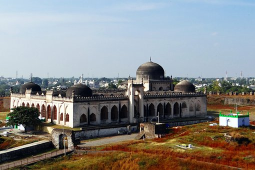 Gulbarga Fort, Jama Masjid, Karnataka, India