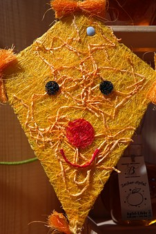 Dragons, Autumn, Colorful, Tinker, Handicraft, Yellow