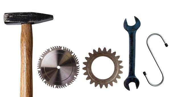 Tools, Logo, Work Equipment, Pictorial, Letters